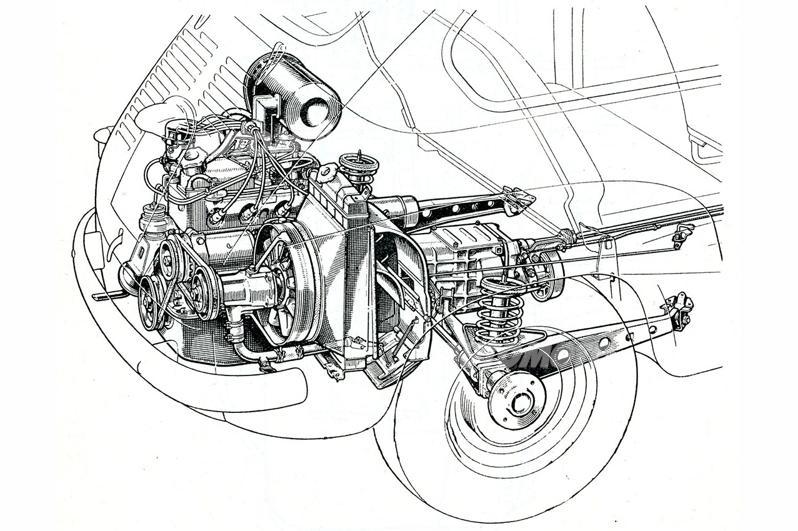 le automobili a motore posteriore  ii parte   dalla fiat