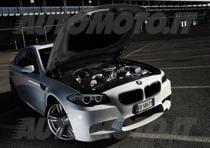 BMW M5 F10 - il motore