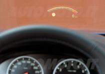 BMW M5 head-up-display