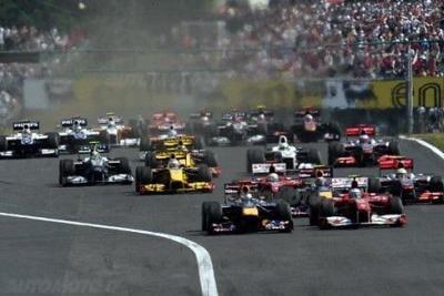 Formula 1 2012: Pirelli spiega il GP d'Ungheria Il calendario del