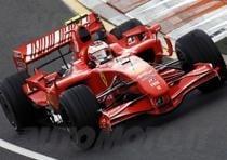 formula 1 2007 ferrari kimi raikkonen