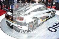 koenigsegg one 1 video