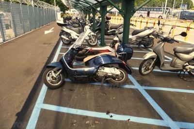 linate parcheggio moto(hp)