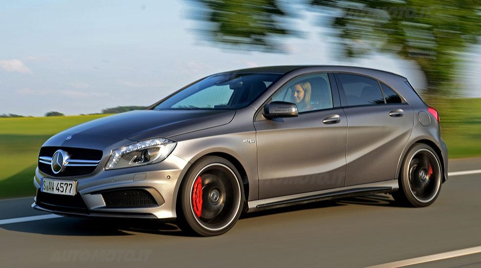 mercedes a 45 amg. Black Bedroom Furniture Sets. Home Design Ideas