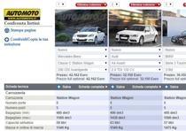 mercedes classe c station wagon confronta modello