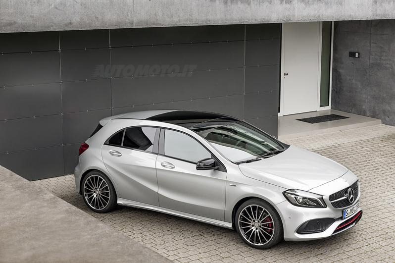 mercedes classe a restyling - prove - automoto.it