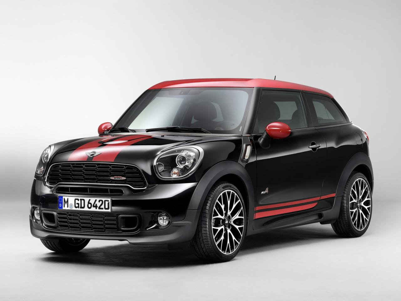 mini john cooper works paceman news. Black Bedroom Furniture Sets. Home Design Ideas